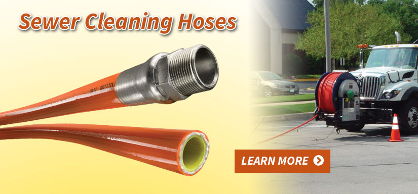 Sewer Cleaning Hose - Learn More