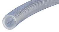 Series K3280, K3285 NSF-61 Certified Reinforced PVC Flexible Connection Hose CLEAR