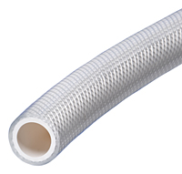 Series K3280, K3285 NSF-61 Certified Reinforced PVC Flexible Connection Hose WHITE
