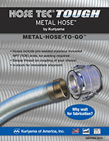 Kuriyama Metal Hose To Go Flyer