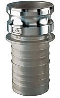 Stainless Steel Part E Male Adapter x Hose Shank SS304E