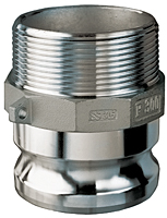 Stainless Steel Part F Male Adapter x Male NPT