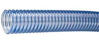 Heavy duty PVC food grade material handling hose For dry applications