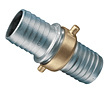 Aluminum Shank with Brass Swivel Nut Complete Set (NPSM Threads)