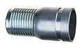 Hose Nipple (Zinc Plated Steel) Grooved End