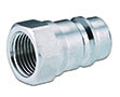 Primary Image - AG Poppet Industry Standard Male Coupler with Female Thread