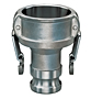 Stainless Steel SS316 Reducing Coupler x Adapter