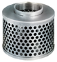 Round Hole Zinc Plated Steel Strainer (NPSM Threads)