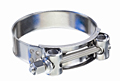 Heavy Duty T-Bolt Clamps 304 Stainless Steel Band, Bolt and Nut