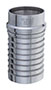 Item Image - 2 in. Hose Shank Size Tube End x Hose Shank Crimp Fitting (TES-SS200)