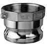 Item Image - Stainless Steel Part A Male Adapter x Female NPT