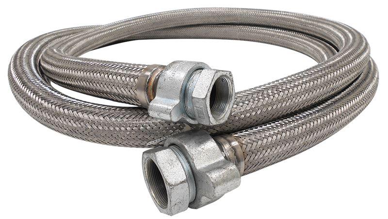 Corrugated Metal Hose – Medium Weight/Medium Flexibility On