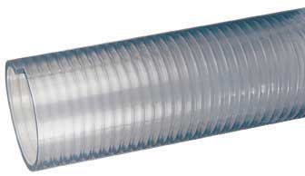 """Jaymac Wire Reinforced Suction 2/""""    ID WIRE//REIN SUCTION HOSE 10MTR FX200-10"""