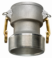Aluminum Reducing Coupler x Male NPT
