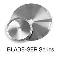 BLADE-SER Series 250 mm Outside Dia. Hose Saws Replacement Blade