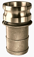 Brass Part E Male Adapter x Hose Shank
