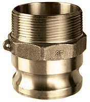 Brass Part F Male Adapter x Male NPT