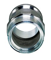 Aluminum Part F Male Adapters