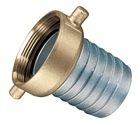 Aluminum Shank with Brass Swivel Nut Female (NST Threads)
