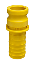 Nylon Part E Male Adapter x Hose Shank