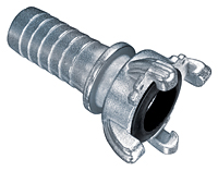 Zinc Plated Four Lug Hose Coupling