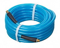 PNEU-THANE™ Series HS5090 Lightweight Reinforced Polyurethane Pneumatic Air Tool Hose Assemblies (with Rubber Bend Restrictors)