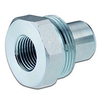Primary Image - 10,000 PSI Industry Standard Male Coupler with Female Thread