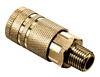 Coupler with Male Thread (NPTF)