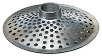 Top Hole Zinc Plated Steel Strainer (NPSM Threads)
