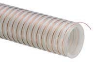 UVPE™ Series Heavy Duty Polyurethane Material Handling Hose With Grounding Wire