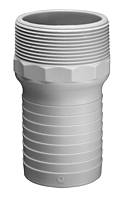 Item Image - Glass Reinforced Nylon Combination Hose Nipples — GRN Series / NPT Thread