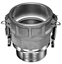 Product Image - Aluminum Swivel Cam & Groove Coupling