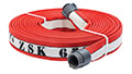 Armtex® HP™ 25 ft Available Lengths, 1 3/4 in. Size, and NST Coupling Type Red KFP's Most Advanced Structural Firefighting Attack™ Line Fire Hose