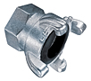 Zinc Plated Four Lug Female Threaded Coupling (NPT Threads)