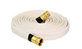 Forest-Lite™ Mop-Up™ 100 ft Available Lengths White Fire Hose