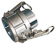 K-Loc(tm) Part B Female Coupler x Male NPT