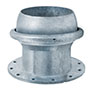 Male Ball x 150 # ASA Flange (Type A) (Includes Connection Ring)