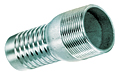 Hose Nipple (Zinc Plated Steel) NPT Threads