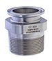 TCMPS-SS Series Sanitary Adapter 316SS Tri-Clamp x Male Pipe (NPT Threads)