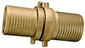 Brass Shank with Brass Swivel Nut Complete Set (NPSM Threads)